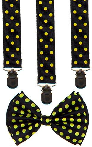 Classic Unisex Bow Tie and Suspender
