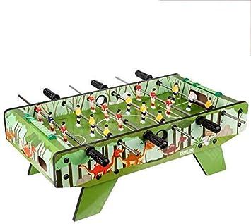 YUHT Futbolín Infantil,Mesa de Futbolín for niños Mesa de futbolín Mini portátil de futbolín Juego de fútbol Juego de fútbol recreativo Mano con Dos Bolas y puntuación: Amazon.es: Deportes y aire libre