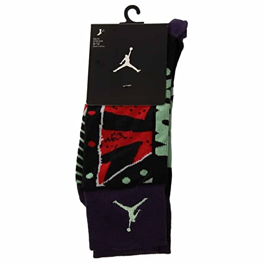 Nike Jordan MARS Crew Socks Ink/Black 684040-535 (Medium 6-8