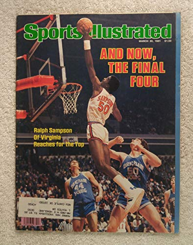 Ralph Sampson - Virginia Cavaliers - Sports Illustrated - March 30, 1981 - BYU Cougars - College Basketball Final Four - SI (College Cougars Basketball)