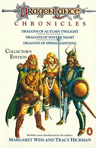 Dragonlance Chronicles: 'Dragons of Autumn Twilight,' 'Dragons of Winter Night,''dragons of Spring (TSR Fantasy)