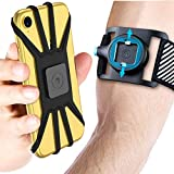 Wireless : Quick Mount Phone Armband for iPhone 11 Pro Max/Xs Max/XS/XR/X/8 plus/8/7 Plus, for Samsung Galaxy S10 Plus/S10/S10e/Note 9/Note 8, Detachable Workout Sports Arm Band, Phone Holder for Running Hiking