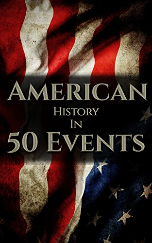 (American History in 50 Events: (Battle of Yorktown, Spanish American War, Roaring Twenties, Railroad History, George Washington, Gilded Age) (History by Country Timeline Book 1))