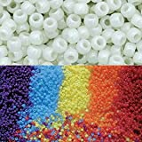 Goodlucky365 Scientific Multi Color Uv Beads, Changing Reactive Plastic Pony Beads, Pack of 500