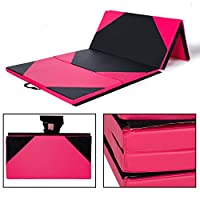 Cloud Mountain 4'x8'x2/4'x10'x2 Thick Folding Panel Gymnastics Tumbling Mat for Home Gym Fitness Exercise