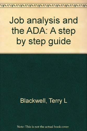 Job Analysis and the ADA: A Step by Step Guide