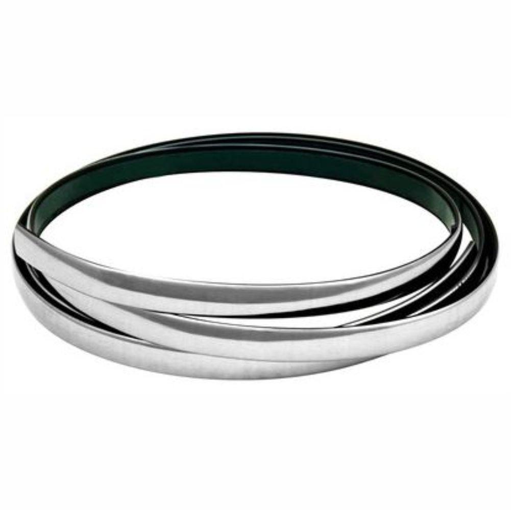 Lampa 20879 - Banda cromada adhesiva (14mm x 4m), color plateado