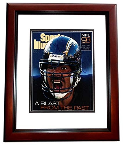 353638a9c Junior Seau Signed - Autographed San Diego Chargers 1993 Original Sports  Illustrated Cover - - minor