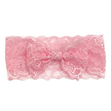 Pink Ruffle Alice Band Hair Accessories UK