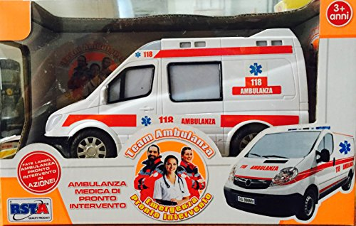 (Rst Asia Ltd Ambulanza Sound Lights B/O, Multicoloured, 9655)