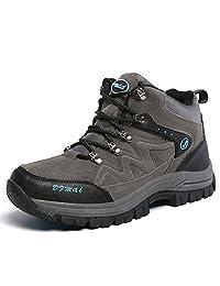 Men Hiking &Trekking Boots High Top Antiskid Outdoor Waterproof Winter Mountaineering Shoes