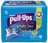 Huggies Pull-Ups Training Pants Night-Time 2T-3T 18-34 Lbs - 52 CT