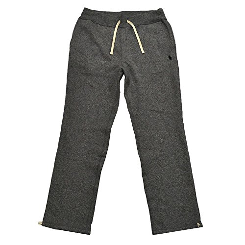 Polo Ralph Lauren Mens Fleece Lined Sweatpants (XL, Alaskan Heather) ()