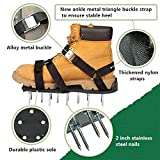 Lawn Aerator Shoes with 3 Universal Adjustable