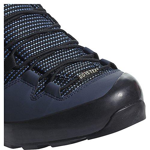 Mens Esterni Adidas Terrex Scarpa Gtx Portata (10.5 - Nucleo Blu / Nero / Colore Giallo Eqt)