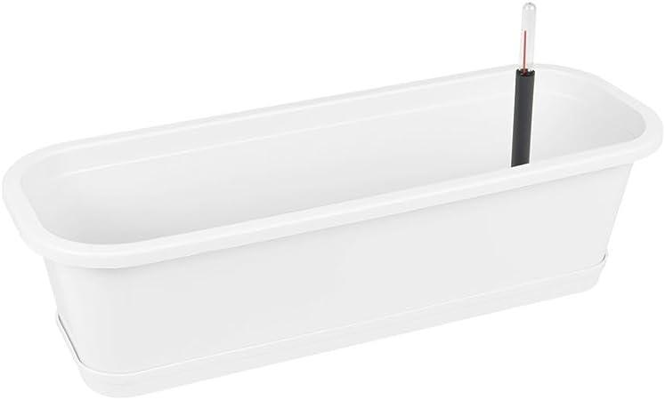 Balkonkasten mit Untersetzer 40 cm bis 80 cm Blumenkasten