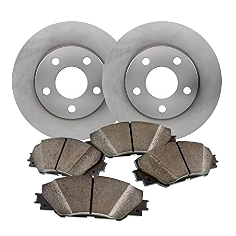 Maxim Brakes Direct Front Premium Quiet technology Brake Rotors and severe Duty Metallic Pads - Brake Pads Express Van