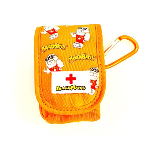 - AllerMates - Small Medicine Case for Inhalers or Single AuviQ: Orange