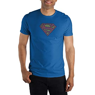 42f472fa1 Amazon.com: Bioworld Men's Superman Logo Tee: Clothing