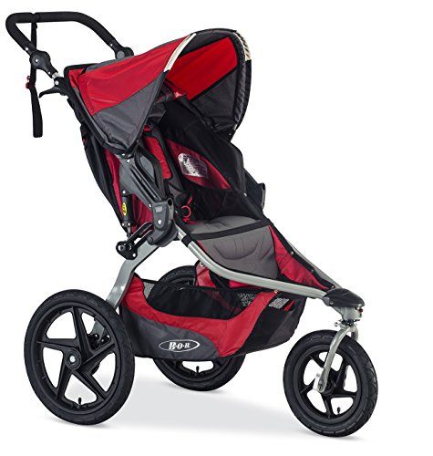 BOB Revolution Flex 2016 Jogging Stroller, Red