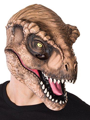 Rubie's Costume CO Men's Jurassic World T-Rex 3/4 Mask, Multi, One Size -