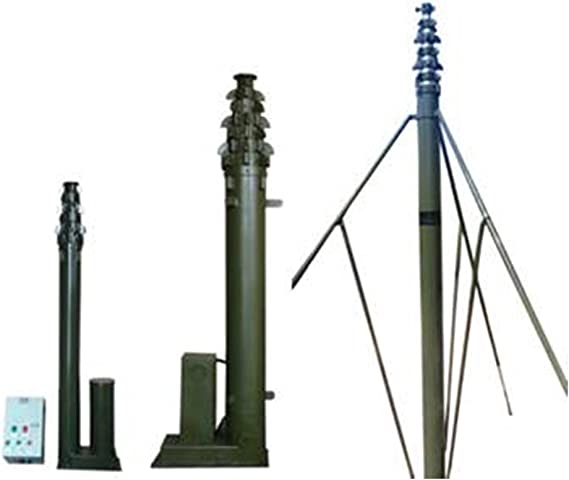 15 m Motorized telescópico mástil pie torre: Amazon.es ...