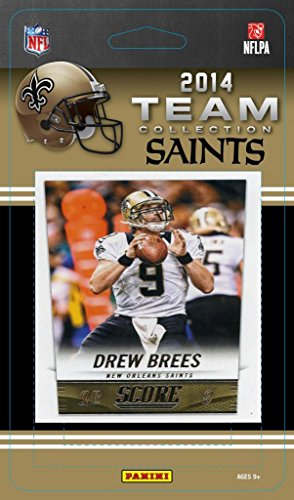New Orleans Saints 2014 Score NFL Football Factory Sealed 11 Card Team Set with Drew Brees, Colston, Jimmy Graham Plus