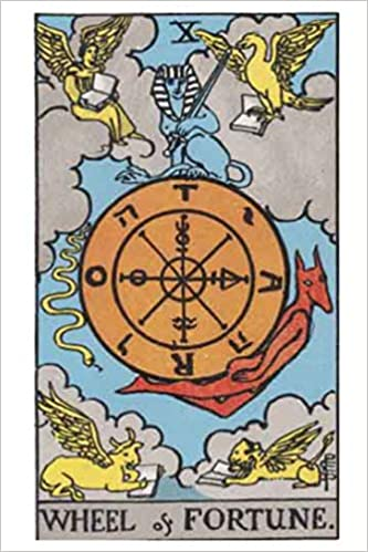 Tarot Notebook Journal - Wheel of Fortune: Medium College Ruled for Your  Daily Readings Illustrated with the Beautiful Rider-Waite tarot deck (Major  Arcana Journal): Queen, Layla: 9781099824012: Amazon.com: Books