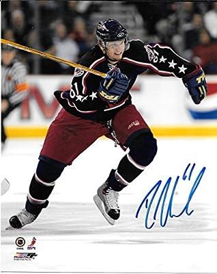 Rick Nash Columbus Blue Jackets Autographed Signed 8x10 Photo - COA - Mint Condition