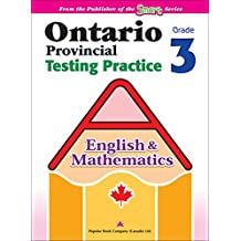 Ontario Provincial Testing Practice (English & Math) 3: EQAO practice materials and test-taking tips for Grade 3