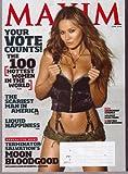 June 2009 *MAXIM # 138* Magazine Featuring, Terminator Salvation's MOON BLOODGOOD