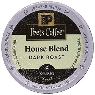 Peet's Coffee K-Cup Pack House Blend, 10 ct