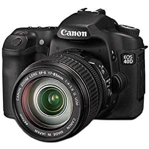Canon EOS 40D Digital SLR Camera (incl. EF-S 17-85mm f/4-5.6 IS USM Lens Kit) (Renewed)