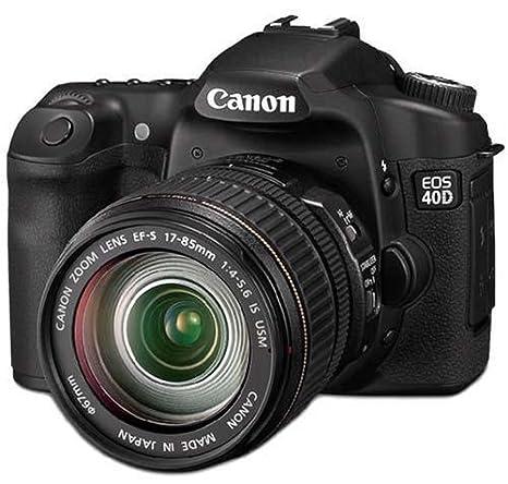 Canon EOS 40D - Cámara Réflex Digital 10.5 MP (Objetivo EF-S 17 ...