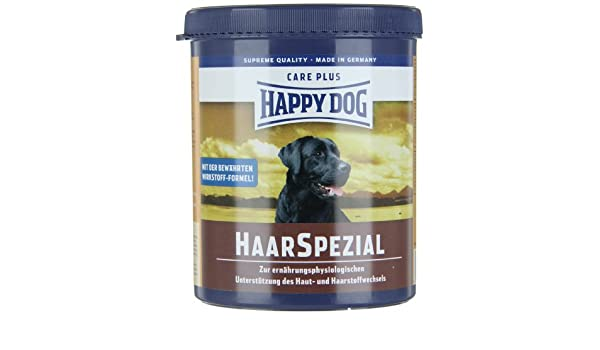 Amazon.com : Happy Dog - 69301 / Haar Spezial - Nourriture pour chien - Spécial fourrure - 1 kg : Grocery & Gourmet Food