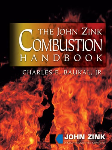The John Zink Combustion Handbook (Industrial Combustion) Pdf