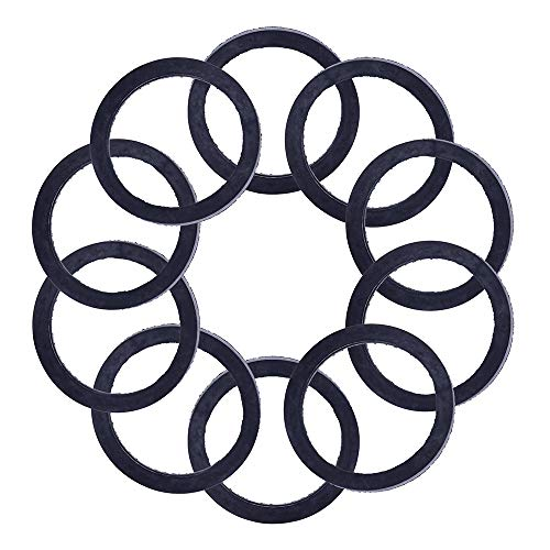 ECCPP Replacement for 10pcs Spout Gaskets Rubber Gas Oil Can Spout for Gott Rubbermaid Blitz Wedco Scepter Eagle Pouring - Accessories Scepter