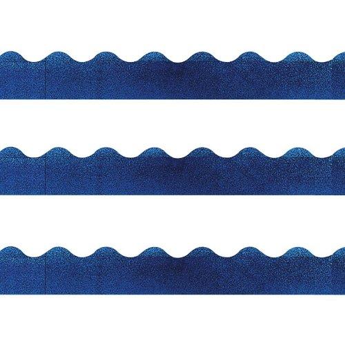 TREND® Sparkle Terrific Trimmers® BORDER,BLUE SPARKLE NRRTCRY (Pack of20) ()