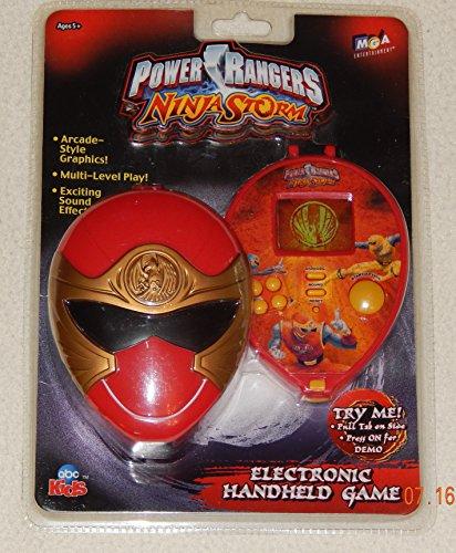 Game Mga Handheld Entertainment - Power Rangers Ninja Storm Electronic Handheld Game #258919 (Year 2003) by MGA Entertainment & ABC Kids