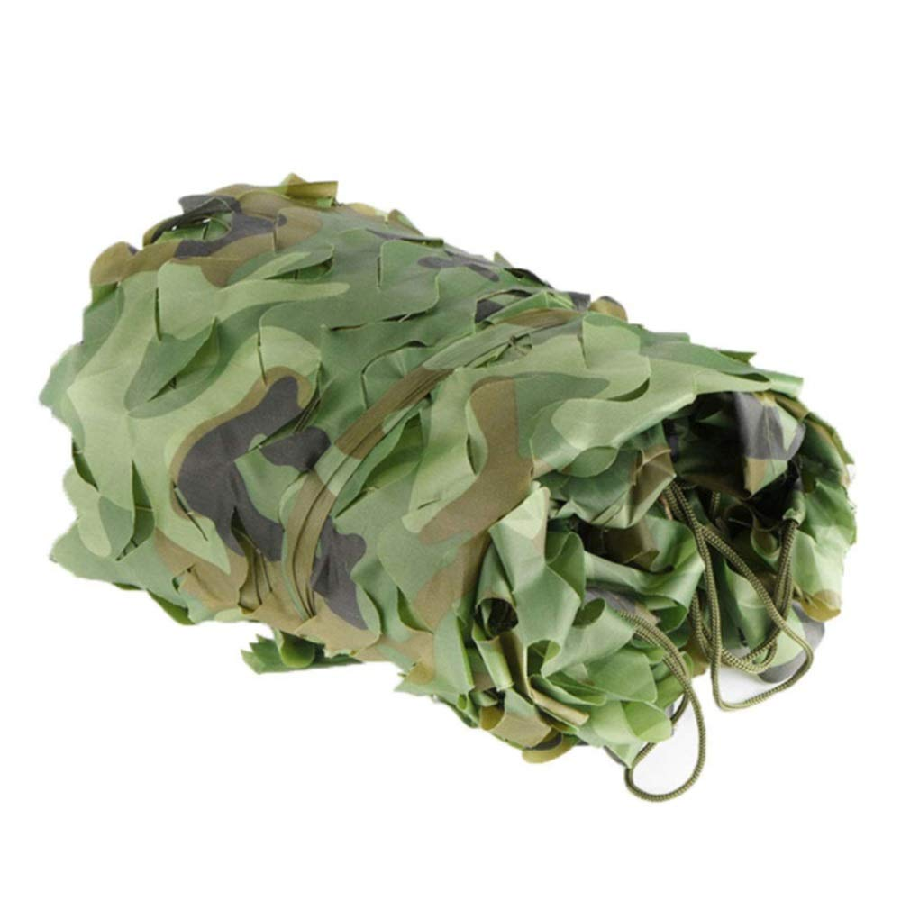 10×10M GXYAWPJ Camouflage Net, AntiAircraft Camping Military Tent Jungle Outdoor Indoor Shade Net (Size   8×10M)