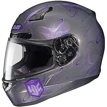 HJC CL-17 Mystic Full-Face Motorcycle Helmet (MC-11, X-Small)