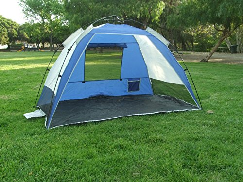 Genji Sports Instant Park and Beach SunShelter Ocean Blue