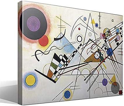 Cuadro Canvas Composición VIII de Vasili Kandinski