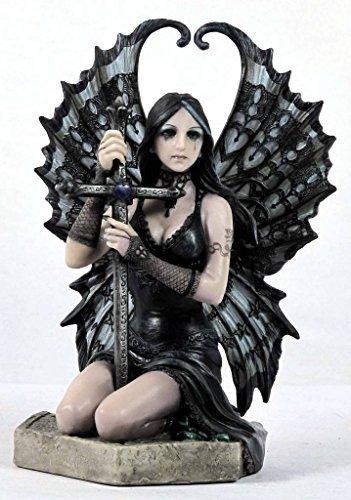 Lost Love Dark Fairy Fantasy Art Figurine by Nemesis Now