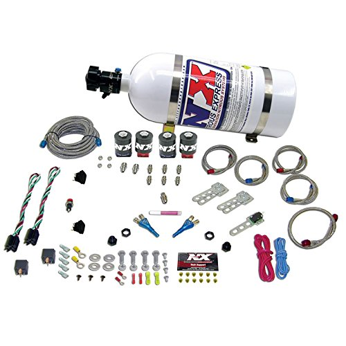 Nitrous Express 20124-00 50-150 HP x 2 Dual Stage EFI for Ford