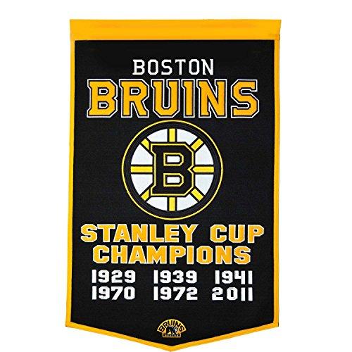 NHL Boston Bruins Dynasty Banner