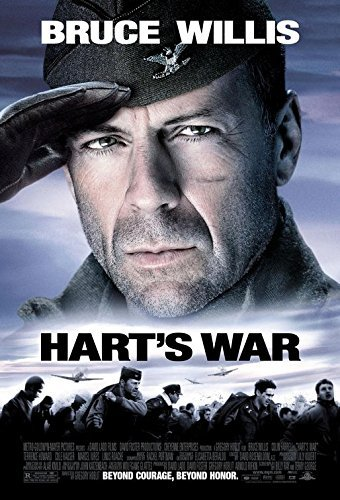 HART'S WAR (2002) Original Authentic Movie Poster 27x40 - ROLLED - Double-Sided - Bruce Willis - Collin Farrell - Terrence Howard - Marcel Iures