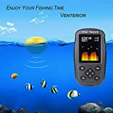 Venterior Portable Rechargeable Fish Finder