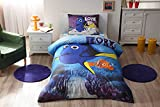 100% Cotton Disney Finding Dory Bedding Duvet Cover Set New Licensed / Finding Dory Movie Twin Size Duvet Cover Set / Finding Dory Bedding Set 3 PCS