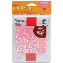 Cuttlebug Cricut A2 Embossing Folder and 5-Inch Border, Modern Vines